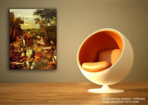 Tamatina Leinwand Gemälde - Renaissance Village - Klassische Kunst