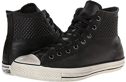 Converse dall'hardware John Varvatos Ct Hi verniciato Sneaker Black