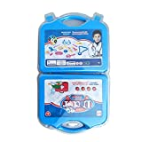 Newin Star Reihe von Spiele von Ärzten, Spielzeug Tasche, Arzt Tasche, pädagogische Spielzeug für Kinder und Baby (blau)