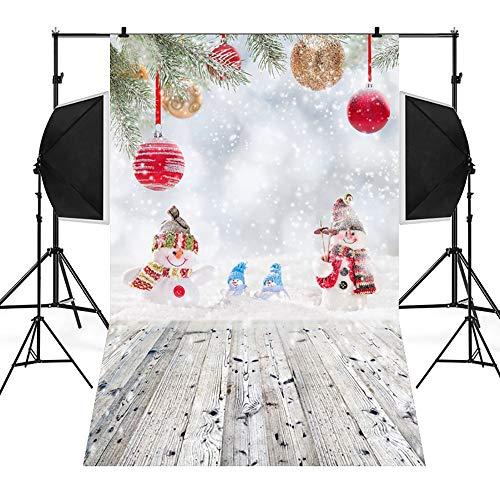 Mitlfuny Weihnachten DIY Home Decor 2019,Weihnachtshintergrund-Schnee-Vinyl 3x5FT (Diy Zug Kostüme)