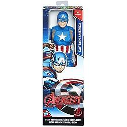 Avengers Marvel Figura Titan Capitán América (Hasbro C0757ES0)