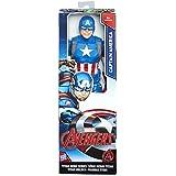 Marvel Avengers - Figura Titan Capitán América (Hasbro C0757ES0)