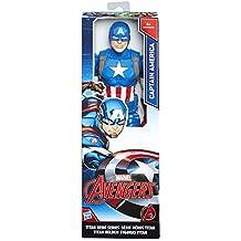 Hasbro Marvel Avengers Avengers Titan Hero Personaggio Captain America, 30 cm