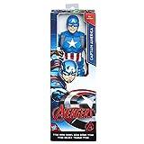 Avengers Avengers-C0757 Marvel Figura Titan Capitán América, (Hasbro C0757ES0)