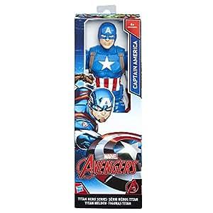 Avengers - Captain America Titan Hero (Personaggio 30cm, Action Figure), C0757ES0