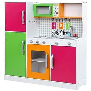Infantastic Cucina gioco giocattolo bambini bimbi legno MDF ca. 102 ...