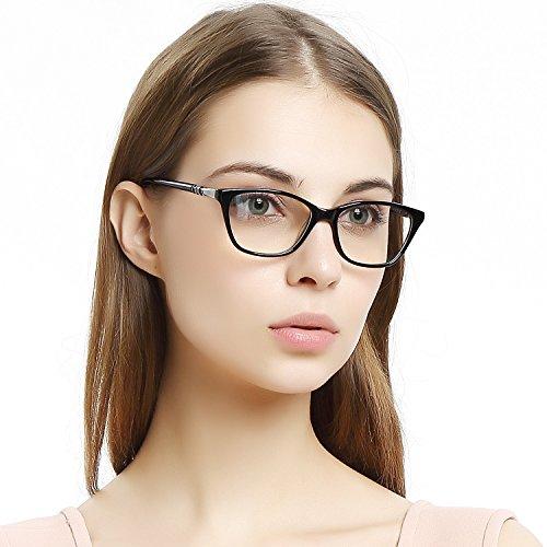 OCCI CHIARI Gafas de mujer marco moda rectángulo metal decoración ac