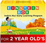 Einstein Box for 2 Year Old Baby Boys and Girls, Learning and Educational Gift Pack of Toys and Books, Multico