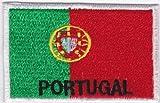 on Sew on Patch Iron ricamato applicazione Portogallo Country bandierine grandi dimensioni