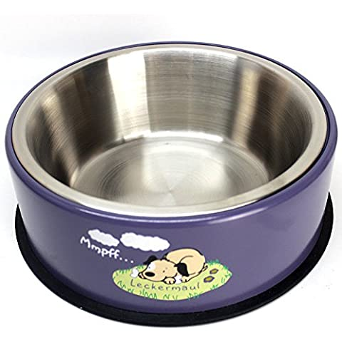 ciotola in acciaio inox alimento per animali domestici durevole resistente