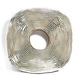 Harbre Butylband extra lang 3mm x 25mm x 12 Meter lang Premium Qualität Gummi Mastix Dichtungsband grau