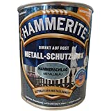 HAMMERITE 5087613 metaalbeschermende lak metaallak hamerslag 0,750 L, metaalblauw, 750 ml