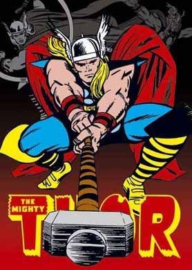 Thor Marvel imán para nevera