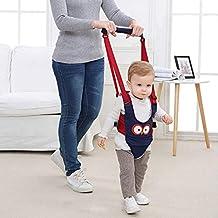 Babymeo Bebe poca asistente niño caminar arnes manejar bebé Walker por autbye, levantarse y caminar