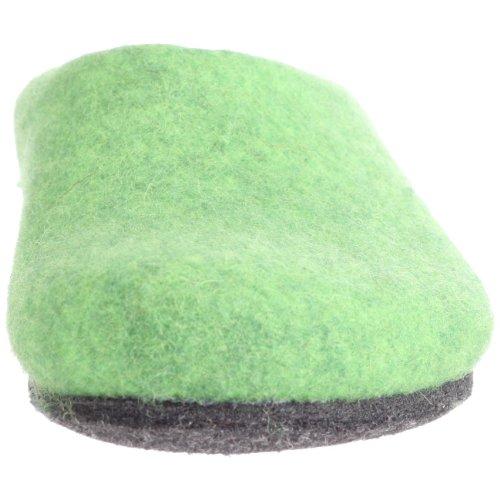 MagicFelt AN 709 Unisex-Erwachsene Pantoffeln Grün (green 4801)