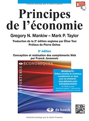 Principes de l'économie par Gregory Mankiw