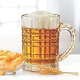 Treo by Milton Bruiser Crystal Beer Glass Mug, 630 ml