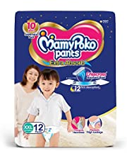 MamyPoko Pants Extra Absorb Diapers, XXL (Pack of 12)