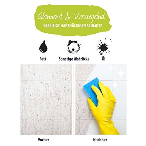 EASY Universal-Reiniger Konzentrat 1.000 ml, Profi-Reinigungsmittel, Glasreiniger, WC Reiniger, Badreiniger & Küchenreiniger für alle glatten Flächen - tierversuchsfrei - 4
