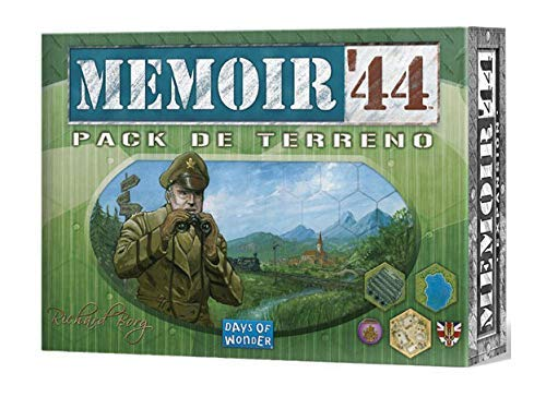 Days of Wonder- Memoir 44: Pack de Terreno - Expansión - Español, Color (DOW7382)