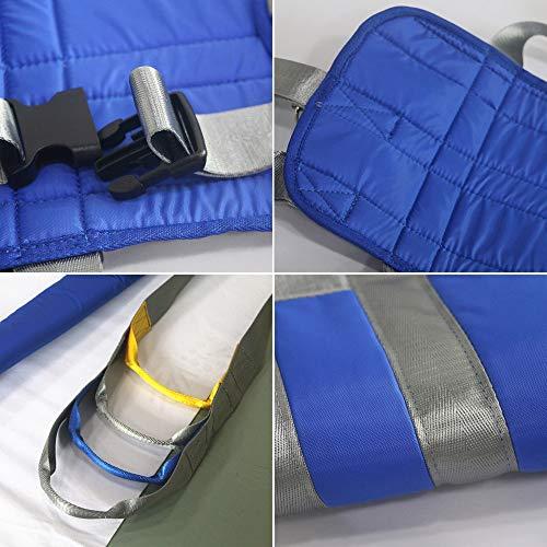 51dB5Ez1QzL - ZIHAOH Cabestrillo De Elevación De Paciente De Cuerpo Completo, Cinturón De Transferencia Médica De Elevación para Personas Mayores Discapacitados, Cinturón para Caminar Asistido por El Paciente