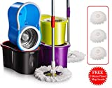 Best Spin Mops - Spin Mops 360 Degrees Rotating Magic Mop Deluxe Review