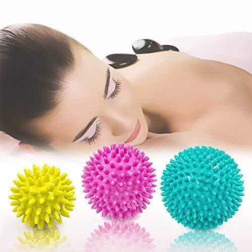 Paquete bolas masaje 3 juegos rodillos gatillo: punto