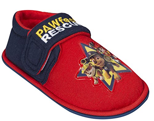 Paw Patrol , Chaussons pour garçon red