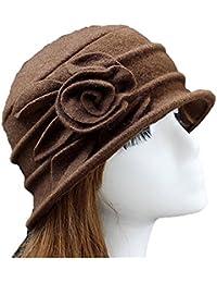 Cappello a secchiello cloche donna in feltro di lana ac25f80234ca