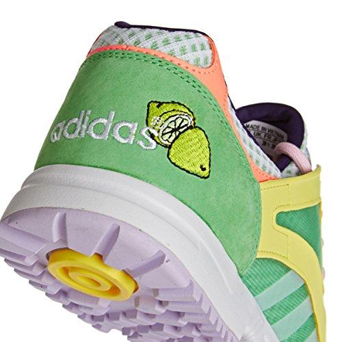 Adidas Originaux Racer Lite W B25884 Cocktail Pack Filles Femmes Sneaker Chaussures Semi-flash Vert / Ftwr Whi / Vert