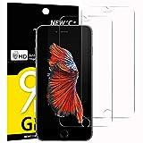 NEW'C Verre Trempé pour iPhone 6, 6S (4.7'),[Pack de 2] Film Protection écran - Anti Rayures - sans Bulles d'air -Ultra Résistant (0,33mm HD Ultra Transparent) Dureté 9H Glass