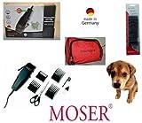 """Moser Profesional Esquiladora para Perro"""" Serie 1170 """", montón de accesorios 6 Cubierta de plástico, para Perro hasta 16kg"""