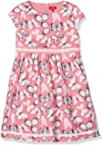 s.Oliver Mädchen Kleid 58.802.82.2798, Mehrfarbig (Pink AOP 43A9), 110