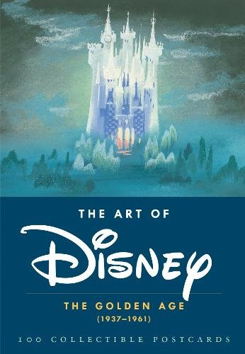 The Art of Disney: The Golden Age (1937-1961) (Postcards)