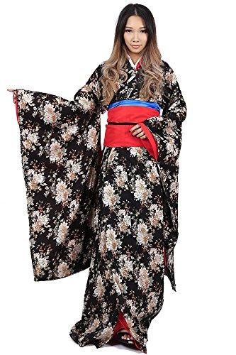 De-Cos Jigoku Shojo / Hell Girl Enma Ai Kimono Outfit 1st Version (Hell Kimono Kostüm Girl)