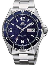 Orient Reloj Analogico para Mujer de Automático con Correa en Acero Inoxidable FAA02002D3