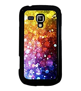 Fuson Designer Back Case Cover for Samsung Galaxy S3 Mini I8190 :: Samsung I8190 Galaxy S Iii Mini :: Samsung I8190N Galaxy S Iii Mini (Colourful Sparkling Glittery Shiny Shining)