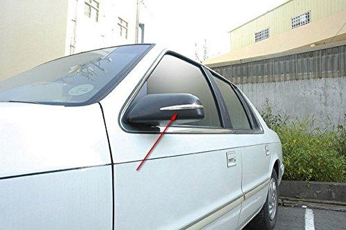 Preisvergleich Produktbild Hypersonic® HP6166 CHROM / SILBER Spiegelschutz Spiegelschoner Türschutz Stoßstangenschutz Rammschutz für die Autospiegel Stoßstange oder Tür , selbstklebend , flexibel , 2 STÜCK im Set , Mirror