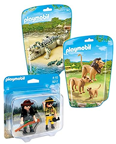 Playmobil Famille Alligators - Playmobil Set: 6642 Famille De Lions, 6644