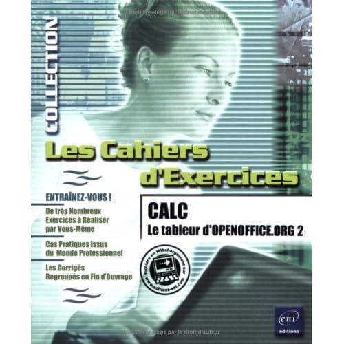 CALC : Le tableur d'OpenOffice.org2