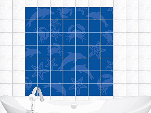 piastrelle-adesivo-per-piastrelle-murale-bagno-delfini-starfish-piastrella-20x25cm-immagine-90x90cm-