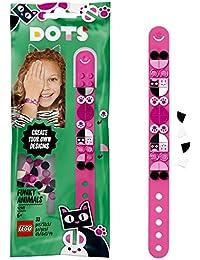 LEGO DOTS BraccialettoAnimalettiFunky, Set Bigiotteria Fai da Te, Idea Regalo, Kit Artistici per Bambini, 41901