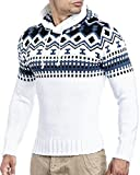 Leif Nelson Sweater-Weiss Large