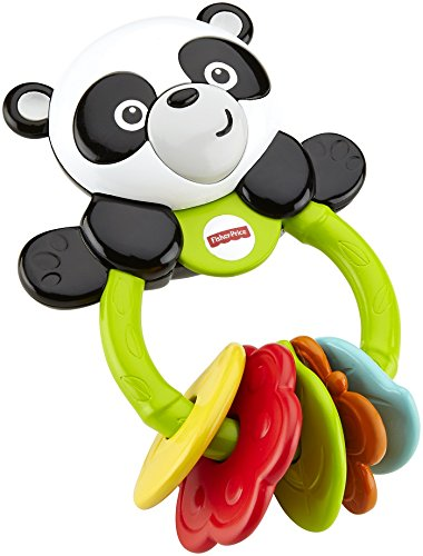 Fisher Price Infant CGR96 - Dentaruolo Panda, Multicolore