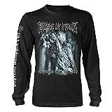 Cradle of Filth Official L Sleeve T Shirt Metal 'Evil Made Flesh' Album