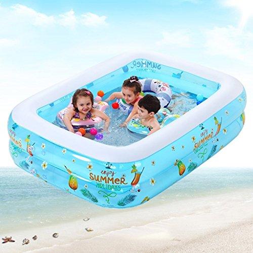 MOMO Badewanne Family Deluxe Pool Aufblasbares Spiel Pool Vaterschaftsspiel Ocean Pool Play Pool Spiel Pool Aufblasbarer Pool Spielen