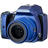 Pentax K-S1 SLR-Digitalkamera (20 Megapixel, 7,6 cm (3 Zoll) TFT Farb-LCD-Display, ultrakompaktes Gehäuse, Anti-Moiré-Funktion, Full-HD-Video) Kit inkl. SMC DA 35 mm Objektiv (Lichtstärke 2,4) blau