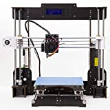 3D Drucker, CTC A8 DIY Prusa i3 MK8 Extruder Hochpräzise Self Assembly Desktop 3D Drucker Upgrade Kit Materialien Drucker Filament ABS/PLA 1.75mm (Druckgröße: 220mm x 220mm * 240 mm)