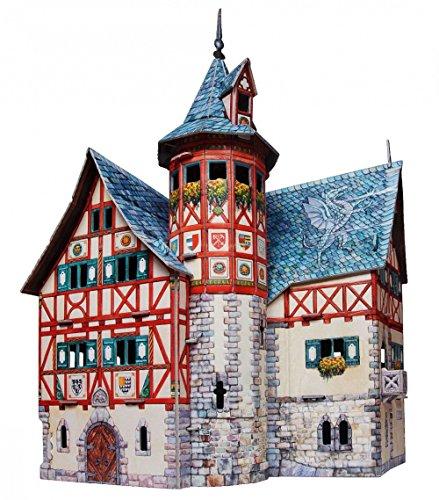 CLEVER PAPER- Puzzles 3D Ayuntamiento Nuevo (14414)