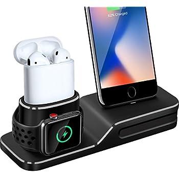 Belkin Station de recharge pour Apple Watch et iPhone, station de recharge pour iPhone XS